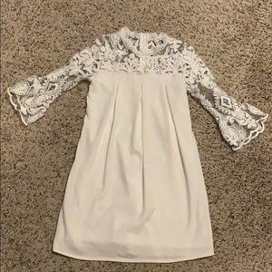 Beautiful lace topped dress